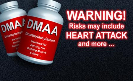 dmaa supplement warning